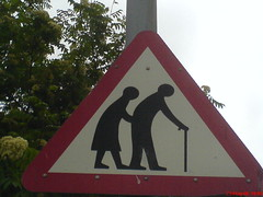 Old People Sign