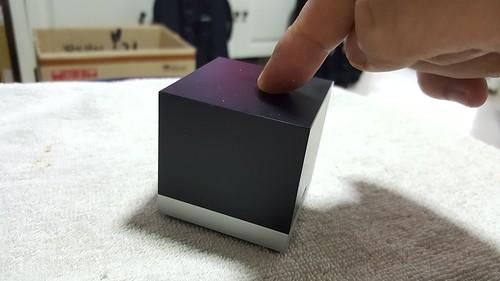 กดที่ตัว Magic Cube จะเปิดเหมือนปุ่มกดเพื่อเริ่มตั้งค่า WiFi