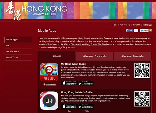Discover Hong Kong Apps