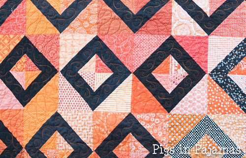 Grace Circle October 2016 Quilt Close-up