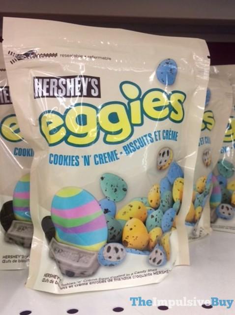 Hershey's Cookie 'n' Creme Eggies (Canada)