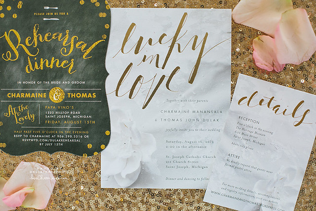 Our Wedding - Invites
