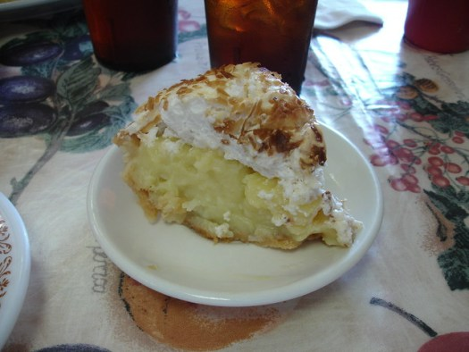 Coconut Pie, Twix -n- Tween Restaurant, Centreville AL