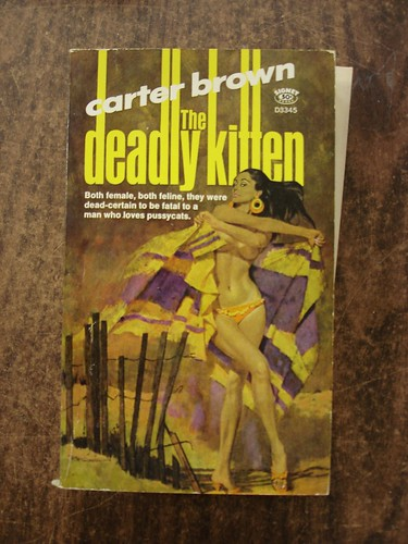 The Deadly Kitten by Carter Brown