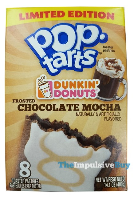 Limited Edition Dunkin' Donuts Frosted Chocolate Mocha Pop-Tarts