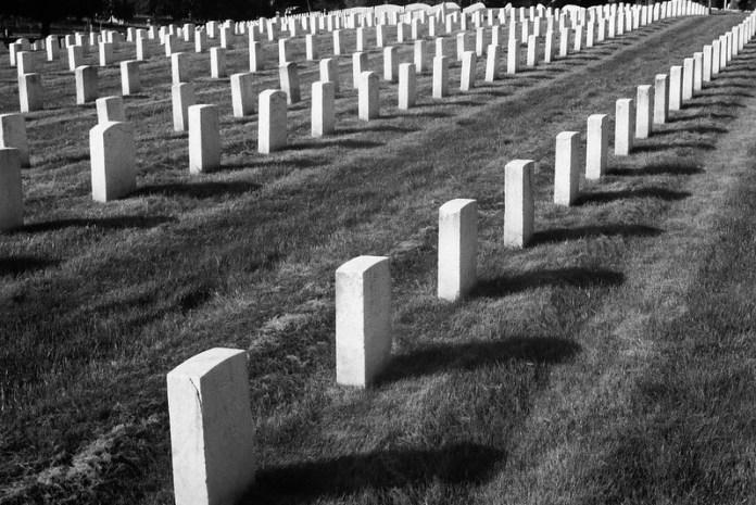 Military cemetery