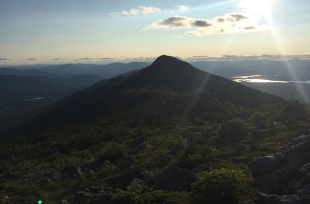 Bigelow West Peak Silhouette
