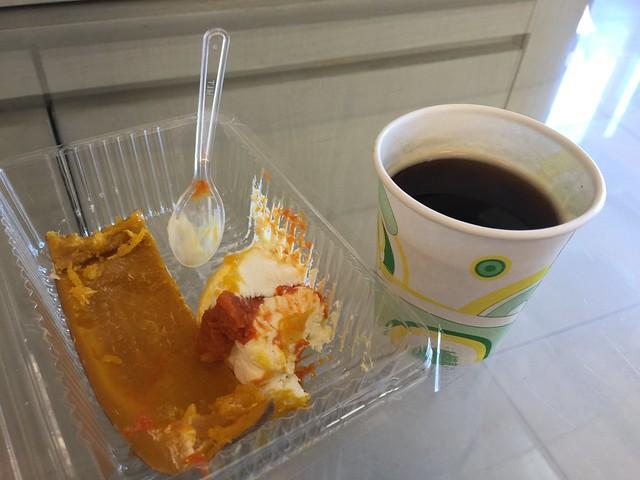 [新北市.旅遊]遺世獨立的四腳亭–晟洸南瓜乳酪蛋糕和橋頭排骨麵 @VIVIYU小世界