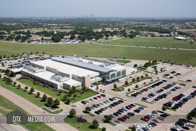 Dallas Fort Worth Commercial Aerial