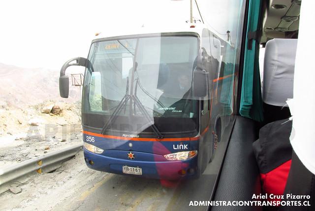 Link Services - Codelco El Teniente - Marcopolo Andare Class / Mercedes Benz (YB1161)