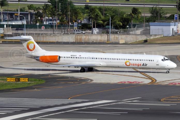 Orange Air MD-80 N926AV @ SJU , Puerto Rico