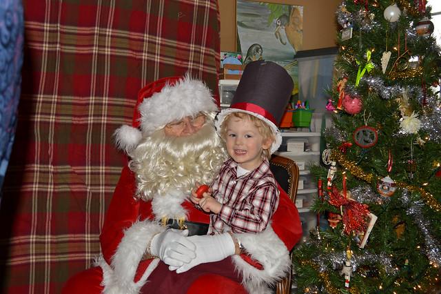 Santa... again!