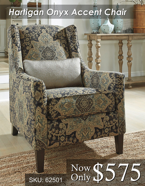 Hartigan Onyx Accent Chair