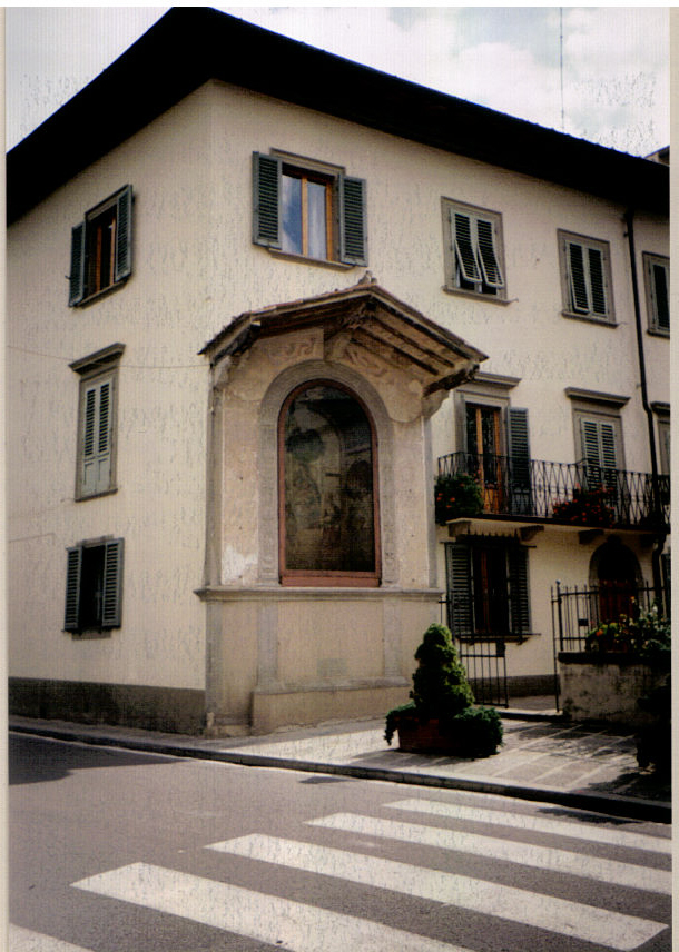 Fiesole streetcorner shrine