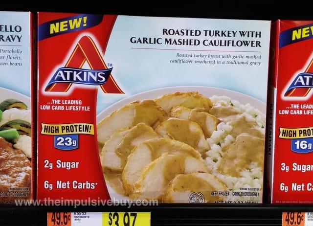 Atkins Roasted Turkey with Garlic Mashed Cauliflower