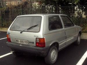 Fiat Uno 60 CS 1990 | Data immatricolazione: 17011990