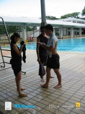 06062003 - FOC.Trial.Camp.0304.Dae.2 - Dress.Up.Competition.At.Pool.. Our Couple..