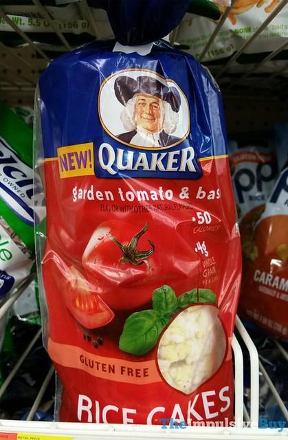Quaker Garden Tomato & Basil Rice Cakes