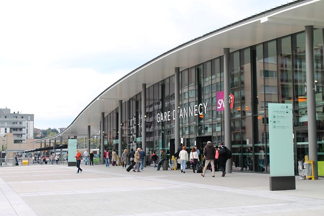 Annecy train station