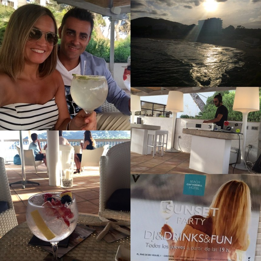 Sunset Experience en Hotel CapVermell Beach Club de Canyamel ( Mallorca)