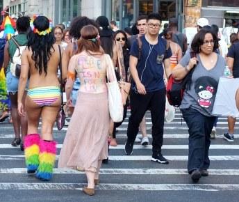 Gay Pride Parade - NYC 2014