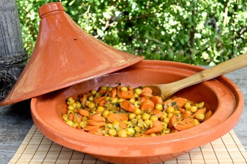 tagine ready to serve