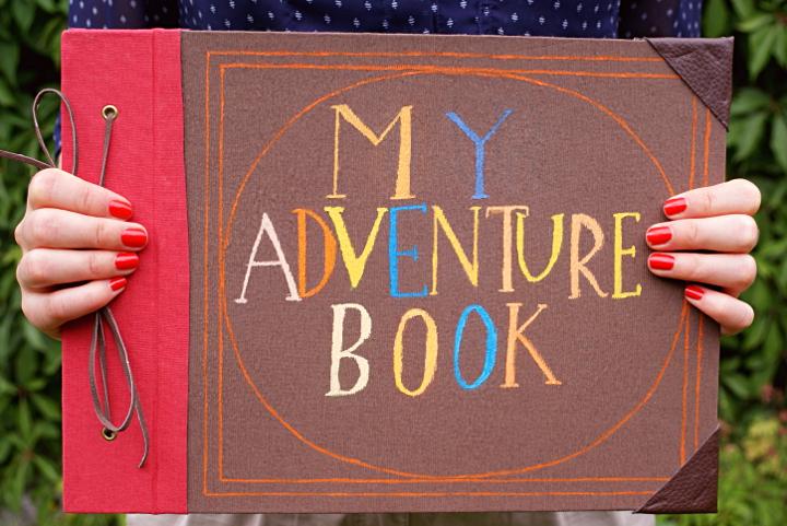 My adventure book! | Tee oma seikkailukirja - Disnerd dreams