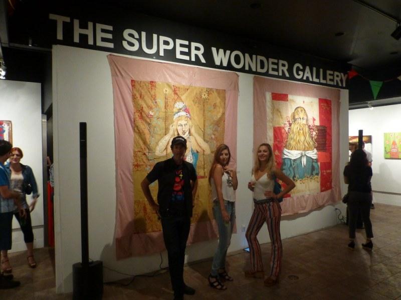 Raymi Meets Christian Aldo At Super Wonder Gallery - Raymi ...