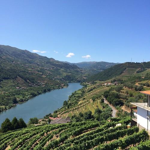La zona di produzione del vino Porto
