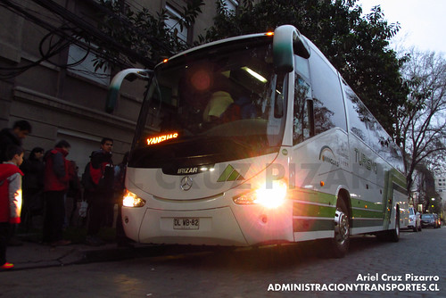 Yanguas (por VTS) - Santiago - Irizar Century / Mercedes Benz (DLWB82)