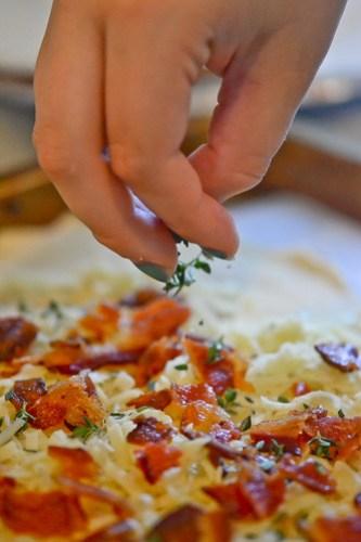 Tomato, Bacon & Gruyere Tart-7