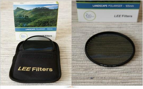 De Landscape Polariser van Lee, geschikt voor het 100mm filtersysteem