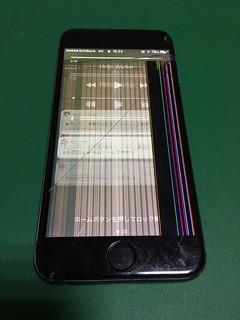 278_iPhone6のフロントパネル液晶割れ