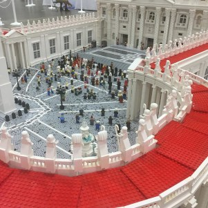 Seen at BrickFair.