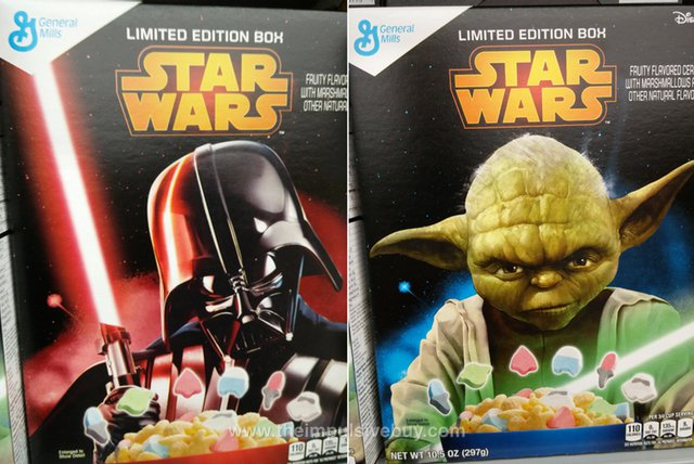 Limited Edition Box Star Wars Cereal (Darth Vader and Yoda)