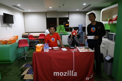 #MozKopdarJKT - #FoxYeah : Registration Table