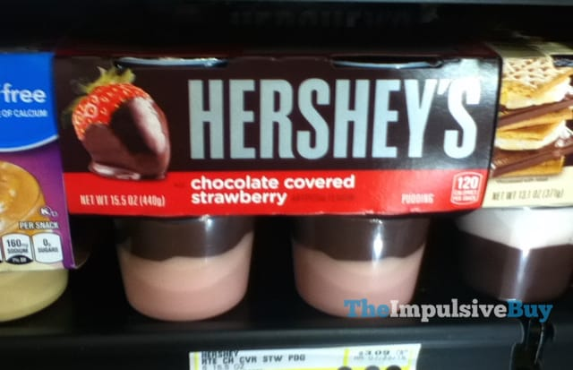 Hershey's Chocolate Covered Strawberry Pudding