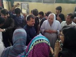 Welcome Sain Sadhram Sahib at Pooj Raherki Sahib (6)