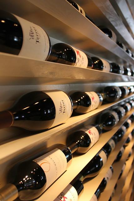 Wine Display at Doris Metropolitan