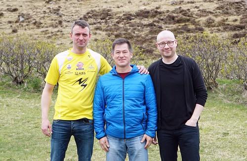 Dan, Jaime og John