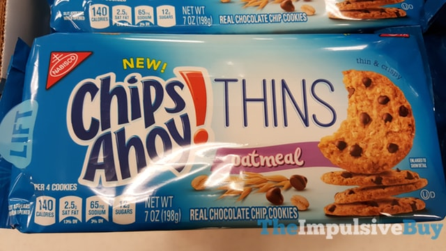 Nabisco Oatmeal Chips Ahoy Thins