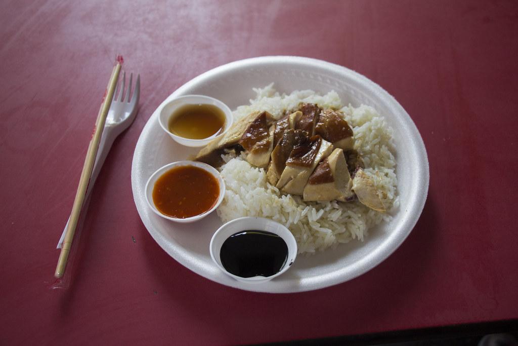 michelinstjernet mad i Singapore på et backpackerbudget