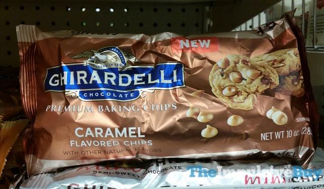 Ghirardelli Caramel Premium Baking Chips