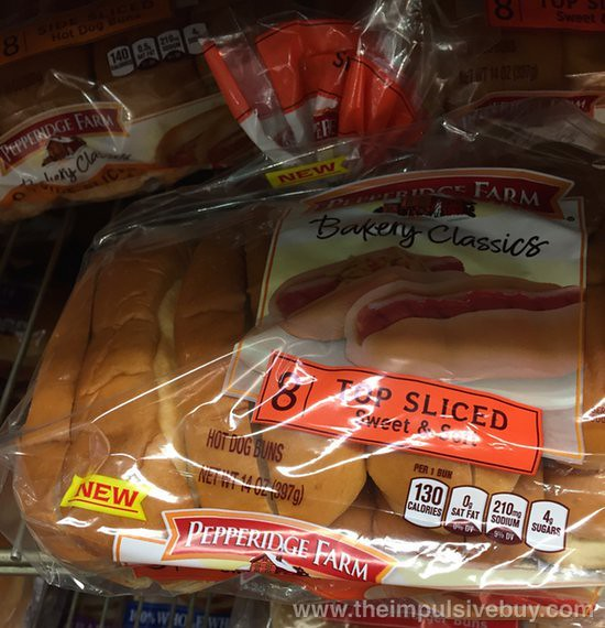 Pepperidge Farm Bakery Classics Top Sliced Sweet & Soft Hot Dog Buns