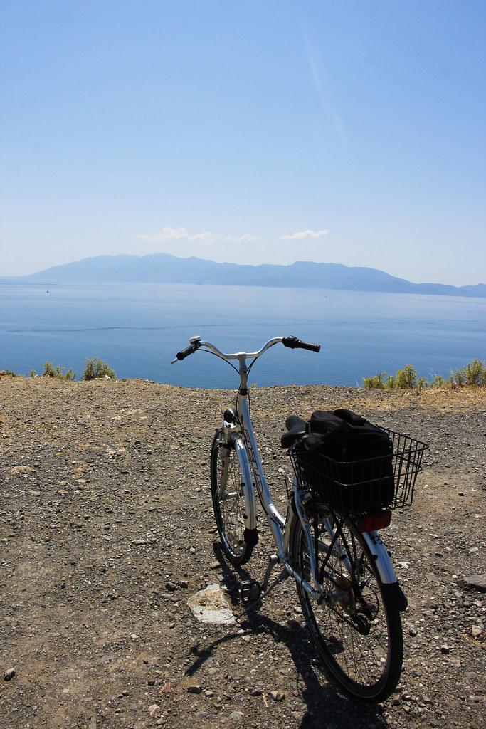 at cykle er en god måde at opleve et land på