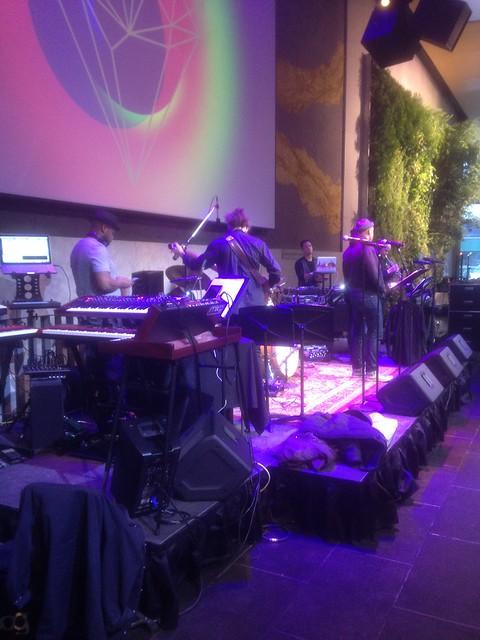 Starting Soundcheck at the David Rubenstien Atrium