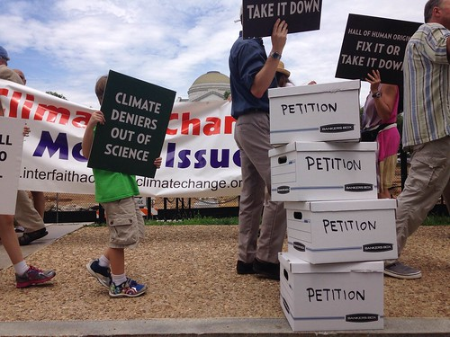 Smithsonian Petition Delivery