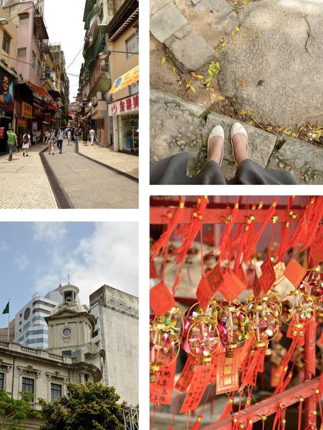 Senado Sqaure, A-Ma temple, Macau street, photography,