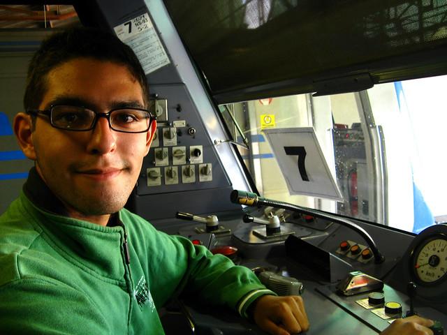 Ariel Cruz Pizarro - Metro de Santiago - Alstom NS93 N2071