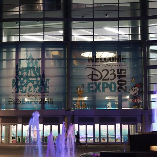 Welcome D23 Expo! #tw